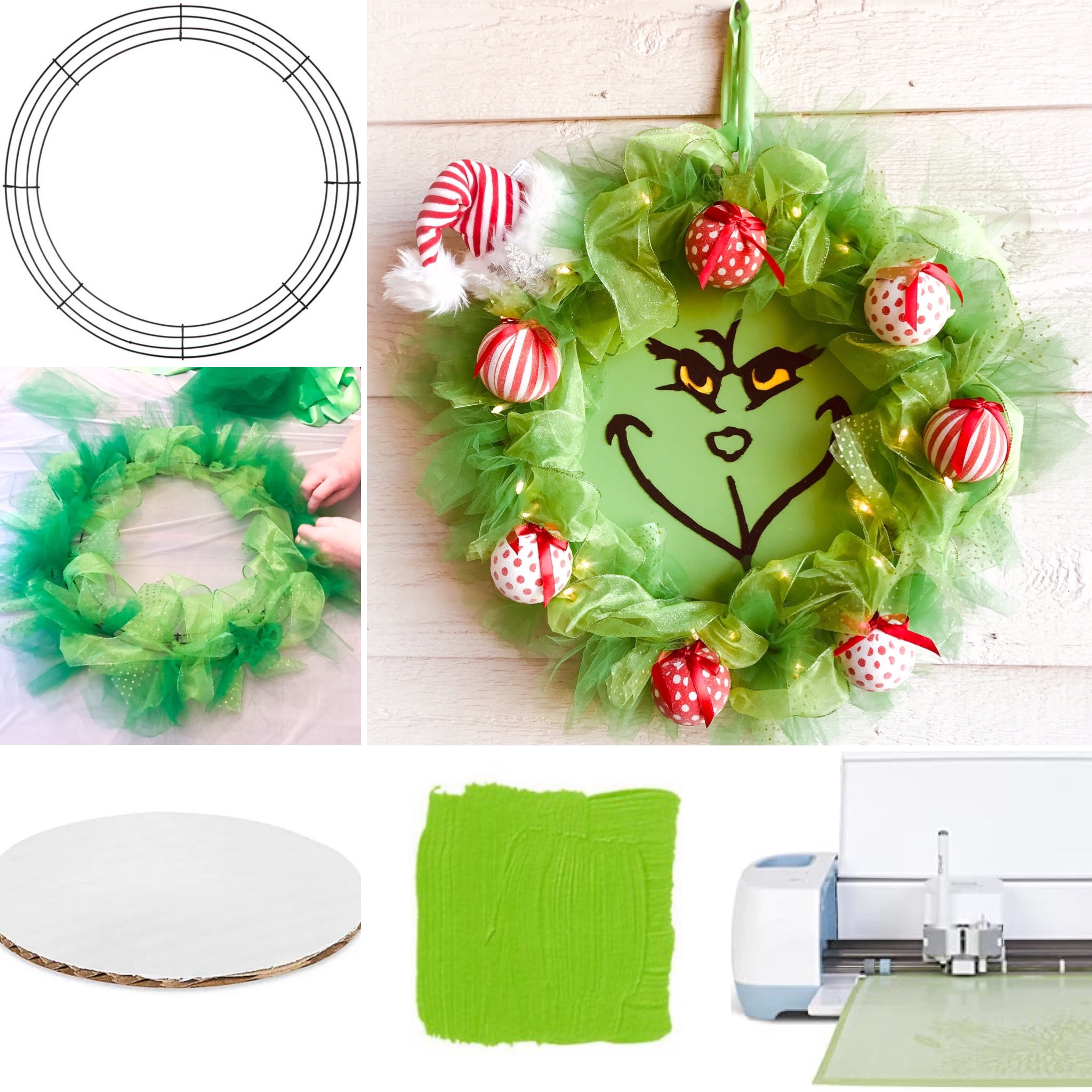 Grinch Wreath Coast To Country